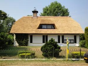 Rieten dak Zeeland